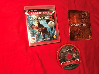UNCHARTED 2 AMONG THIEVES  PS3 PLAYSTATION 3 BRA SKICK