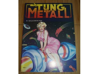 TUNG METALL NR 1 1987 Fint skick