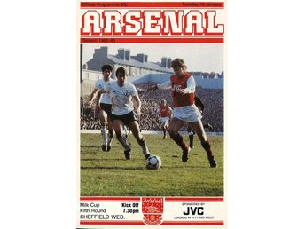 Arsenal - Sheffield Wednesday (Milk cup - 18.1.1983)
