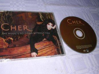 CHER - The Music's No Good Without You CDS 1trk Promo NM/EX