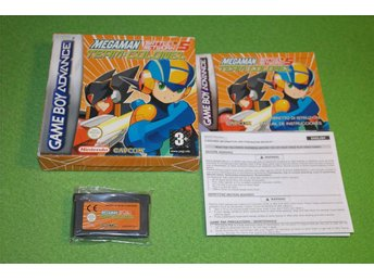 Megaman Battle Network 5 Team Colonel KOMPLETT GBA Gameboy Advance