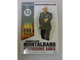 DVD - Kommissarie Montalbano mafiosons änka - Kallinge - DVD - Kommissarie Montalbano mafiosons änka - Kallinge