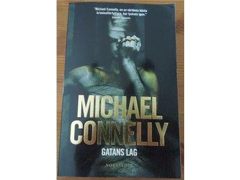 Bok Michael Connelly Gatans lag - Hässleholm - Bok Michael Connelly Gatans lag - Hässleholm