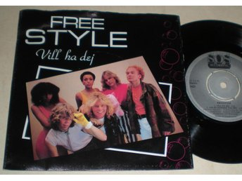 Freestyle EP/PS Vill ha dej 1980 VG++