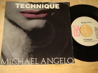 "TECHNIQUE - MICHALE ANGELO 7"" 1983"