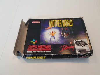 Another World Snes Scn