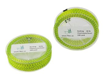 Backing - 20lb - Chartreuse/Svart