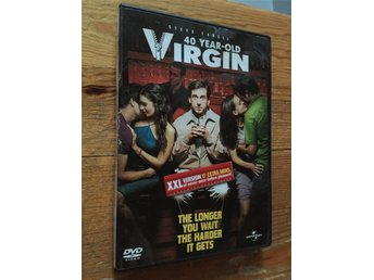 40 year-old Virgin - Steve Carell (original DVD) - Gratis frakt