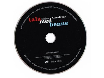 Talk to Her 2002  DVD (Disc Only)