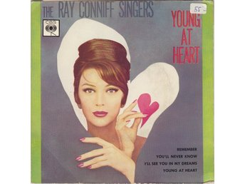 "Ray Conniff Singers. Young At Heart. 7"" Jazz. Mispeled rare Edition"