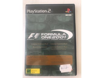Formula one 2001 play station 2 ps2 spel