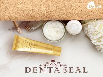 Denta Seal - Teeth whitening toothpaste - protects and fills your tooth enamel