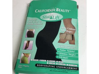 California Beauty, Kroppsstrumpa, Strl: S, Beige