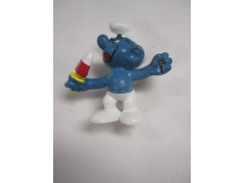PEYO SMURF MED GLASS