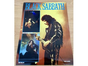 BLACK SABBATH HAMMERSMITH ODEON 1986 PHOTO POSTER