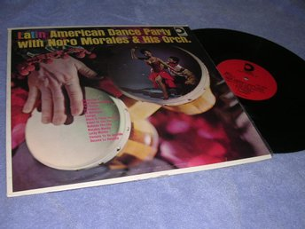 Latin American Dance Party w Moro Morales (LP) VG+/VG+