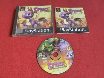 SPYRO 2 GATEWAY TO GLIMMER till Sony Playstation PSone - Blomstermåla - SPYRO 2 GATEWAY TO GLIMMER till Sony Playstation PSone - Blomstermåla