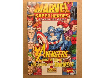The Avengers Roster Book (Marvel Super Heroes RPG)