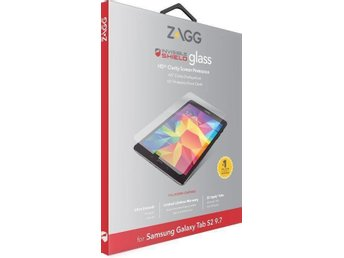 Samsung Galaxy Tab S2 9.7 - Zagg INVISIBLESHIELD Glass - Härdat Glas