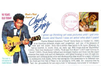 90th Anniversary of the Birth of Chuck Berry Event Cover