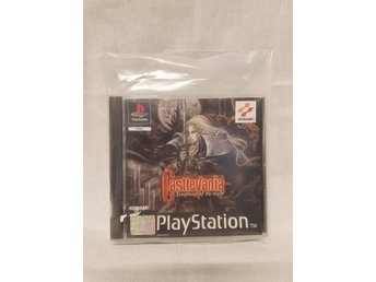 Castlevania Symphony Of The Night / PS1 / PAL / Ovanlig orginalutgåva