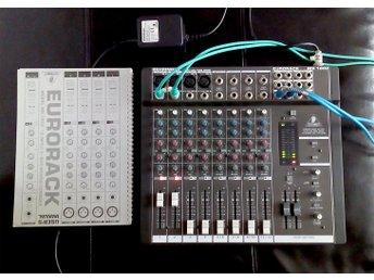 Analog mixer - Behringer Eurorack MX 1602 - Stockholm - Analog mixer - Behringer Eurorack MX 1602 - Stockholm