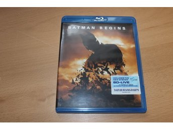 Blu-ray: Batman begins (Christian Bale)
