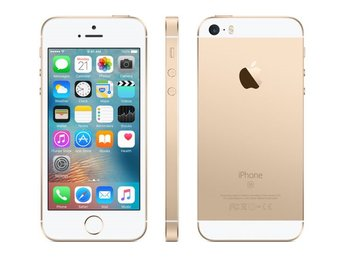 Apple iPhone SE 64GB, guld, gold, PERFEKT SKICK
