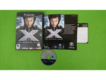 X The Official Game KOMPLETT  Gamecube Nintendo Game Cube