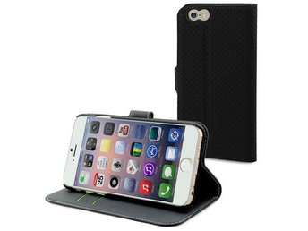 Wallet iPhone 6 Plus Svart