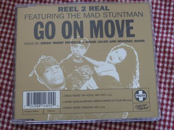 Reel 2 Real feat. The Mad Stuntman - Go On Move CD Single 1994