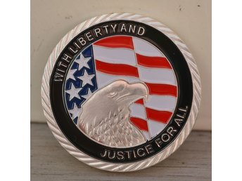911 United We Stand 11 September 2001 USA Mynt Silver Pläter