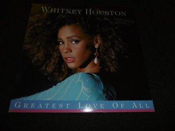 "Whitney Houston - Greatest love of all - 12"" - 1986"
