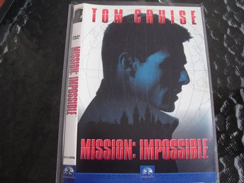 DVD-MISSION IMPOSSIBLE *Tom Cruise*