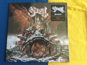 Ghost Prequelle LP clear/black  swirl vinyl rare 300ex