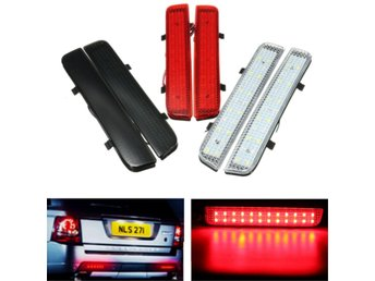 Rear Bumper Reflector Tail Light Brake Stop Light Driving...