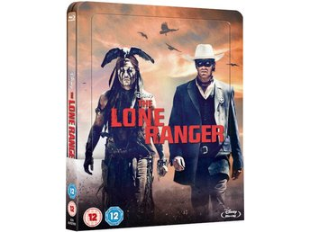 The Lone Ranger -  Limited Lenticular Edition Steelbook Blu-ray