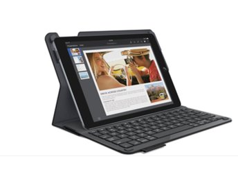 Logitech type+ iPad Air 2 bluetooth bärbar dator laptop skal fordral fodral