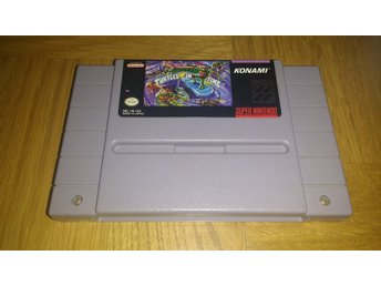 Super Nintendo/SNES: Turtles in Time (USA)
