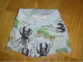 Mini Rodini insects shorts light blue storlek 80/86