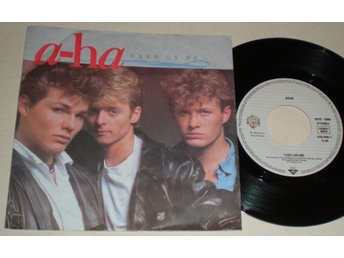 A-Ha 45/PS Take on me 1985