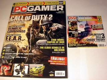 PC GAMER  Nr99 HELT NY m DVD  MARS 2005  CALL OF DUTY 2