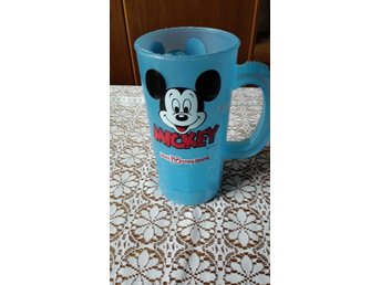 Retro Mugg/bägare Mickey mouse, Disney 17x8 cm