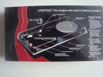 ORBITRAC ALLSOP3 The unique new record cleaning system