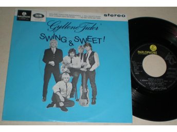 Gyllene Tider EP/PS Swing & Sweet 1981 VG++