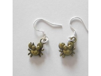 Krabba örhängen / Crab earrings