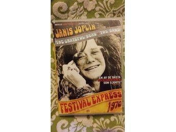 Festival Express 1970 *OOP utgången film* Janis Joplin, The greatful dead