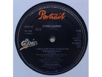 Cyndi Lauper title* Girls Just Want To Have Fun (Extended Version)* Synth-pop, D