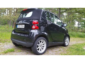2008 Smart Fortwo Cabriolet Passion Turbo F1-tiptronic (84hk)