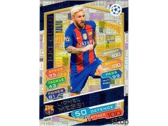 2016-17 Topps Champions League NE 100C11 Lionel Messi FC Barcelona 100 Club - Linghem - 2016-17 Topps Champions League NE 100C11 Lionel Messi FC Barcelona 100 Club - Linghem